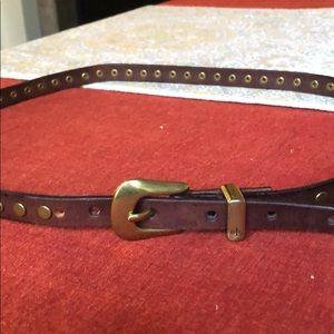 Ralph Lauren vintage studded leather belt.